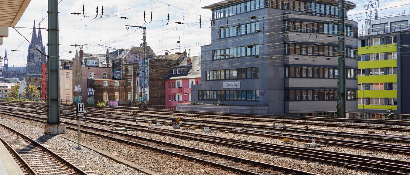 Ansicht Gebäude Köln Hansaring